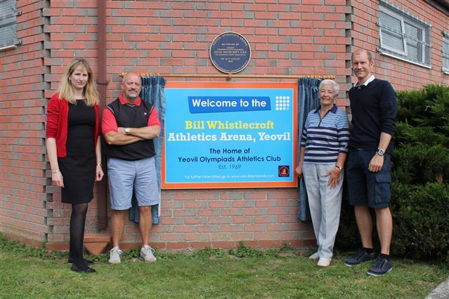 The Bill Whistlecroft Athletics Arena, Yeovil